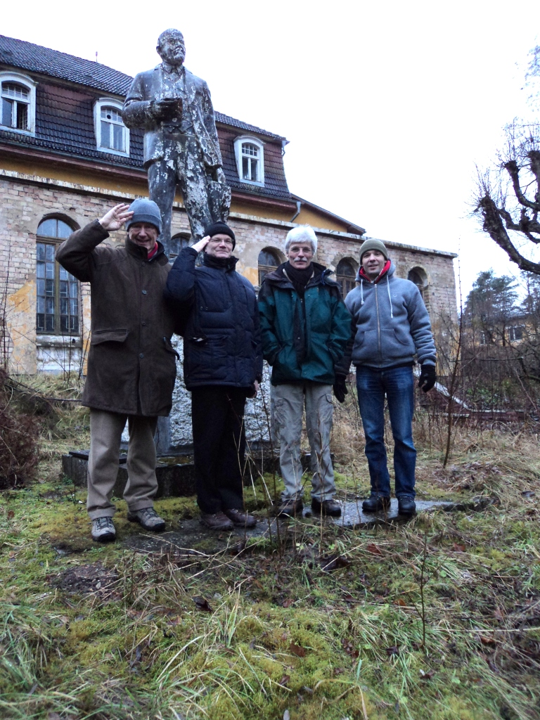 """""""Lenin lives, lived and will live""""  a rare preserved Lenin in Eastern Germany"""