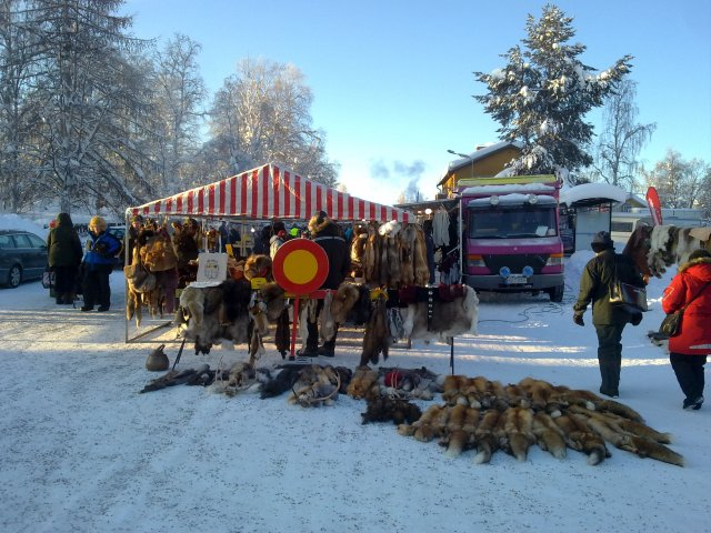 The Jokkmokk winter market has been held already more than 400 years. Now mining comes closer to this place too, causing hot debates