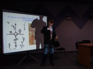 My presentation concerning the integration of archaeological and ethnographical research into Sami History and Culture in Finland.