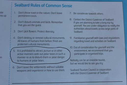 Svalbard_Rules_of_common_sense