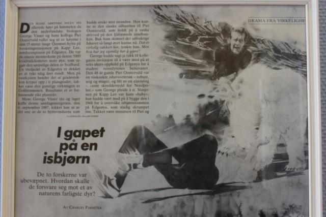 Drama of 1987 on Edgeøya. Photo: Anna Stammler-Gossmann