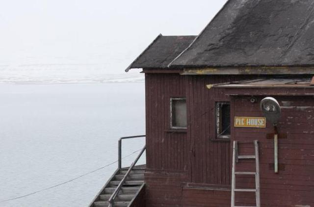 'Pig house' in Barentsburg. Photo: Anna Stammler-Gossmann