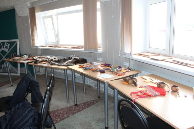 The exhibition contained items from the Kola Peninsula, Yamal, Arkhangel'sk Region, Sakha and Finland
