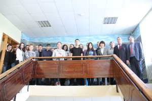 The course participants in Neryungryi technical institute of North Eastern Federal University, Russia