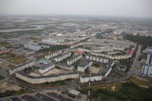 Large scale industry city in the Arctic: Nadym