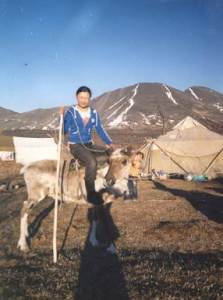 Eveny reindeer, courtesy of Narya Starostina, Eveno-Bytantay, Yakutia