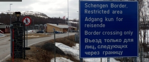 Russian Arctric border: a no-go for pedestrians. Photo by Herman Jelstad, May 2012