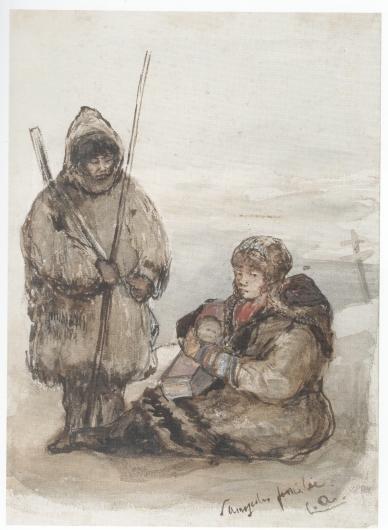 Louis Apol , Nenets, 1880.