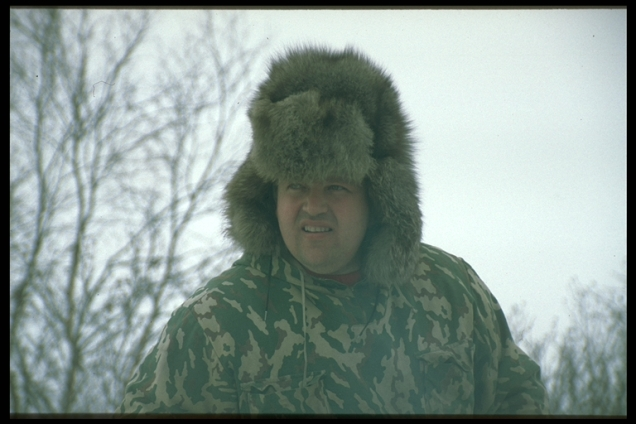 He was my first lived experience that not only Nenets love the tundra, spring 1998, Yar Sale tundra